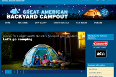 Join the Great American Backyard Campout!