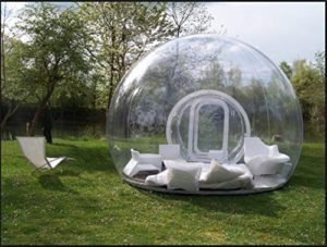 Outdoor Single Tunnel Inflatable Bubble Tent Example