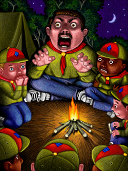 scary campfire stories for kids